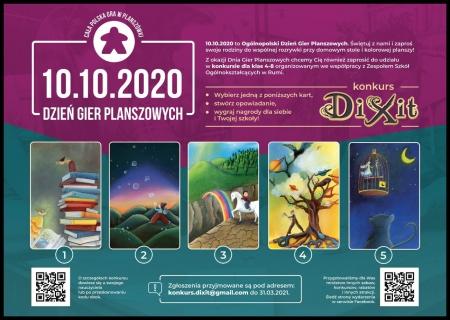 Ogólnopolski Konkurs na Opowiadanie Inspirowane kartami z Gry DIXIT
